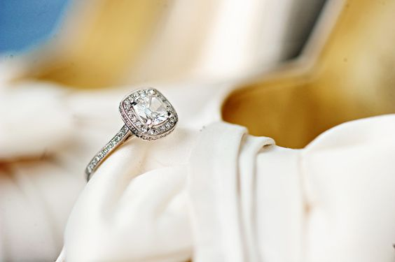 Henri Daussi - My engagement ring!   Photographer: Kristin Guin Photography