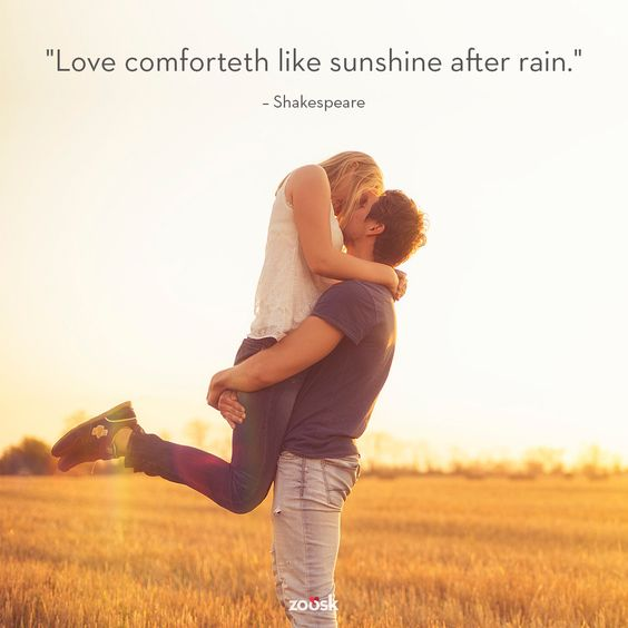 #lovequotes #Shakespeare #love #sunshine #rain: