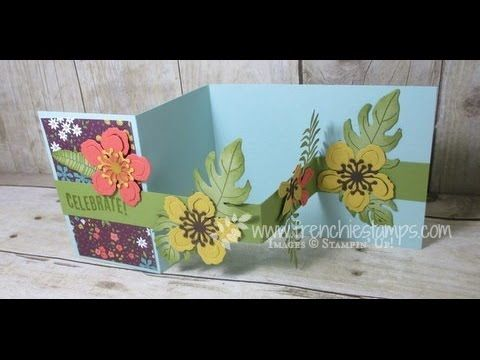 Stamp & Scrap with Frenchie: Floating Flower with Botanical Blooms