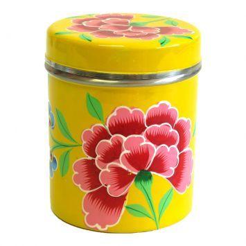 Pote Flores Amarelo