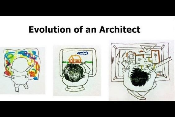 evolution of an architect/ la evolución de un arquitecto