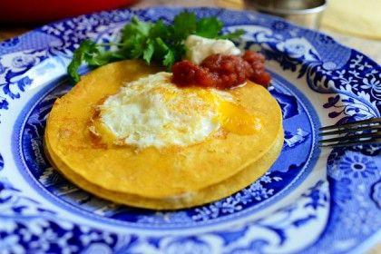 Breakfast for Kiel  Huevo in the Hole