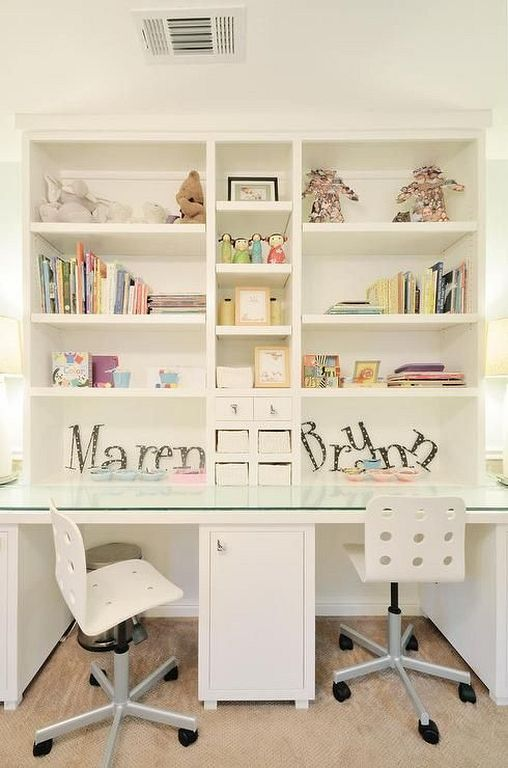 20 Fun And Cute Study Room Ideas For Kids Shared Girls Bedroom