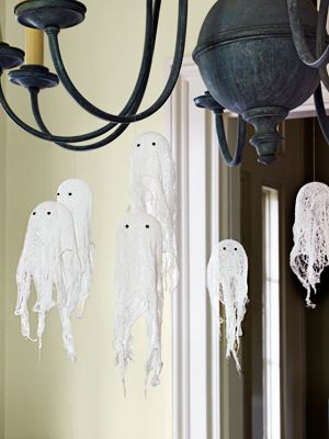 Cheesecloth Ghosts