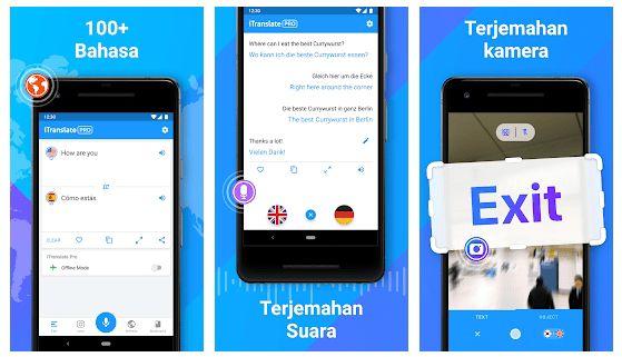 5 Aplikasi Translate Semua Bahasa Terbaik Akurat Untuk Android App Traveling By Yourself Translation
