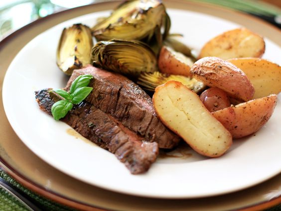 Grilled Balsamic Basil Flank Steak — DIY How-to from Make: Projects