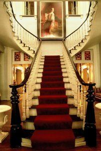 Belmont Mansion stairs - is it possible to fall in love with a staircase?..  (Meridian Manor)