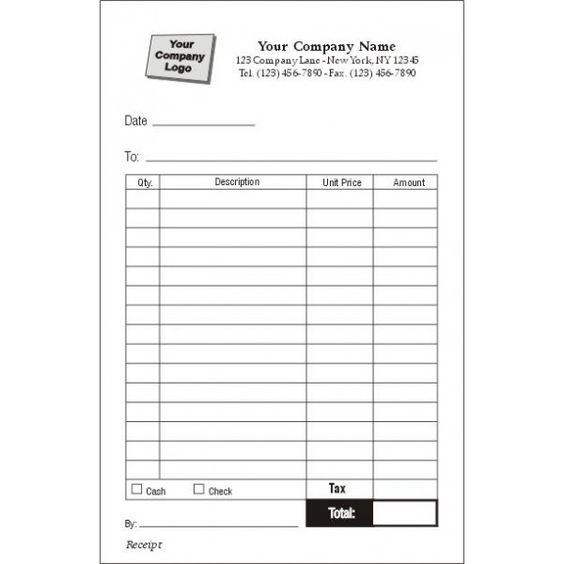 Order Forms Receipt Forms Invoice Forms Sales Books – Free Printable Receipt Forms