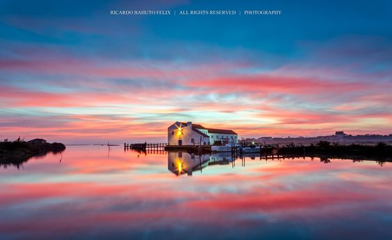 Photo Tidal Mill of Mourisca - Portugal by Ricardo Bahuto Felix on 500px
