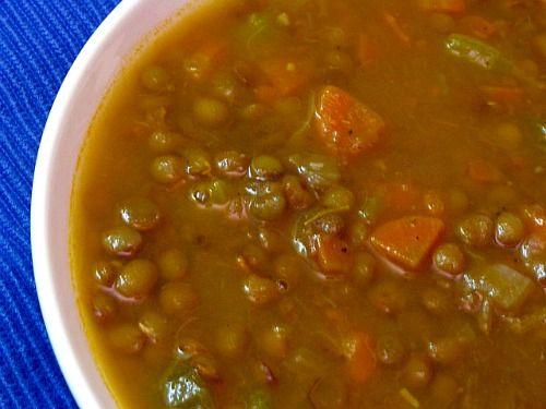 Ina garten s lentil vegetable soup ina garten bags and for Best lentil soup recipe in the world