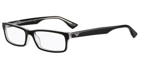 Emporio Armani EA9660 7C5 BLACK CRYSTAL Emporio Armani Glasses | Prescription Emporio Armani Glasses