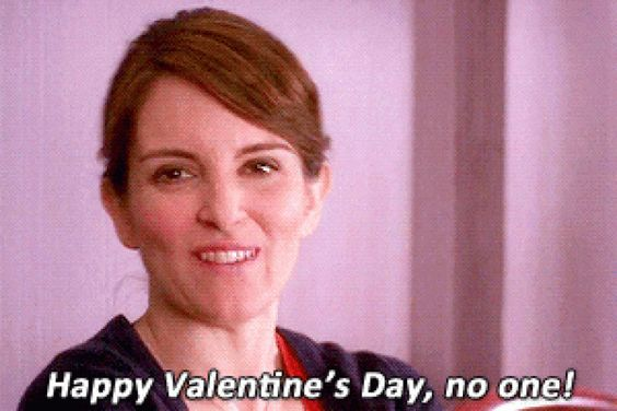 Be Mine Valentine: A GIF Guide to Being Single on Valentine's Day l   Her Campus