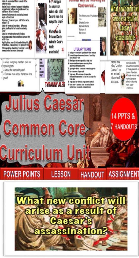 Thesis statement on Julius Caesar's assassination!?