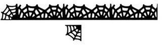 Create, Believe, Imagine at Dreamscrapbooks: Free Spider Web Border and Punch SVG File