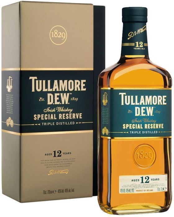 Tullamore Dew 12 Year Old Special Reserve Irish Whiskey In 2020 Irish Whiskey Whiskey Brands Irish Whiskey Brands