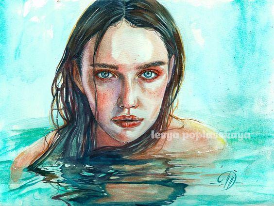 Artist Olesya Poplavskaya