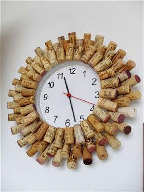 20 Extraordinary Diy Clock Ideas For Inspiration Wine Cork Diy