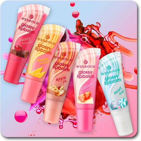 our five glossy lipbalms are perfect companions for anyone who loves yummy fruit and sweet treats. which flavor will you go for?  01 strawberry cheescake 03 cherry brownie 04 mint drop 05 mango icecream 06 berry cupcake