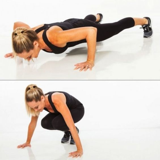 60 seconds to a slimmer body! Workout from #ShapeMagazine