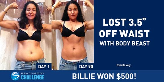 Find Out How Billie Shed 3.5 Inches Off Her Waist in Just 90 Days