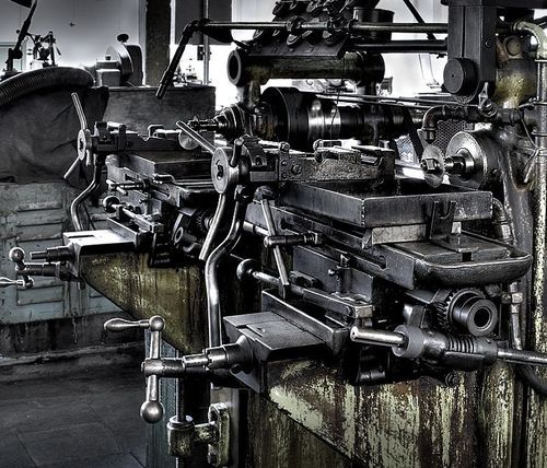 machine tools shop