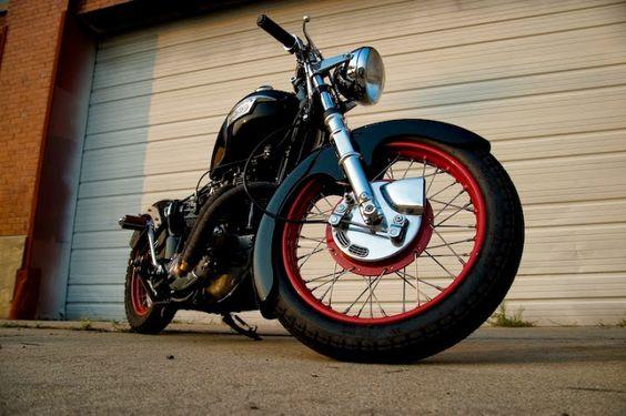 Custom Triumph 750 Bobber - Grease n Gasoline