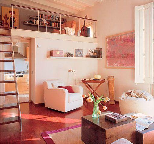 Construir un altillo para ganar espacio http - Altillos en habitaciones ...