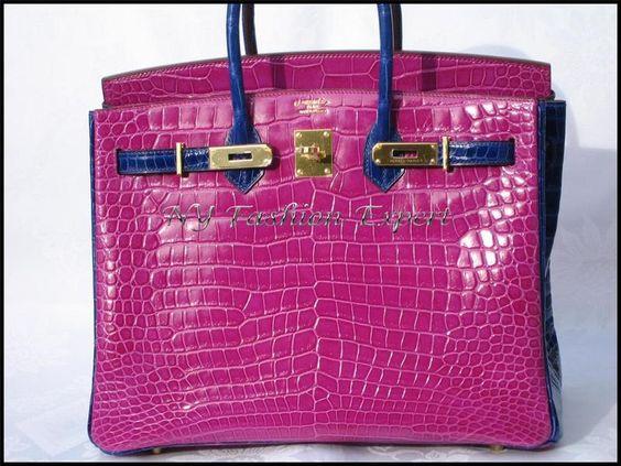 replica hermes birkin handbags - Special Order Birkin Size: 35cm Colors: Rose Scheherazade ...