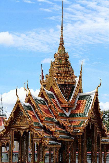 Thai architecture travel to thailand pinterest for Thailand architecture