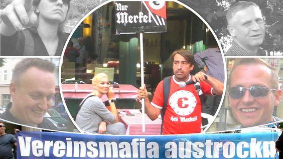 Heil MERKEL - Pro Einwanderung Demo von Satirikern verdreht