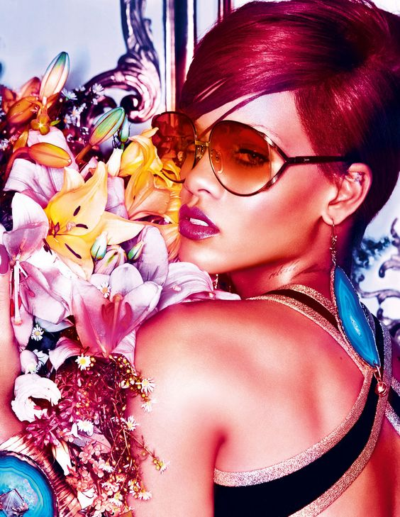 Rihanna / Interview Magazine / Photography Mikael Jansson