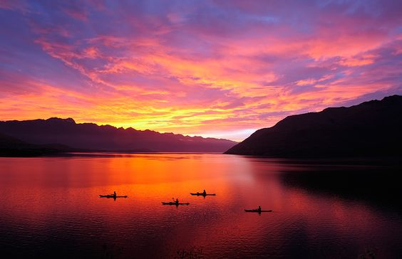 the Remarkables, NZ by AtomicZen