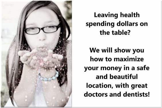 Health spending on the table
