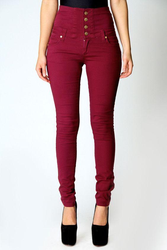 High Waisted Jeans | Dream Closet | Pinterest | Pants, Hourglass ...