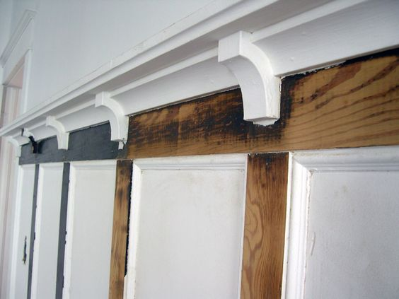 Crafts arts and crafts and blog on pinterest for Arts and crafts wainscoting