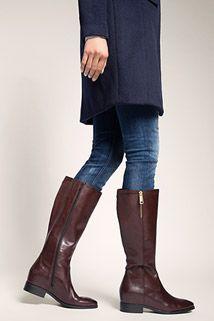 Esprit / Stiefel mit Außen-Zipper