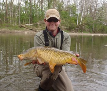 Mad River Outfitters offers guided fly fishing trips for carp in Ohio and in Michigan. That's right....carp! We fish lakes and streams throughout the region. Details and pricing here!