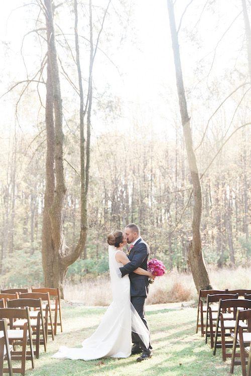 Bright Garden Maryland Wedding at Woodend Sanctuary DC Wedding