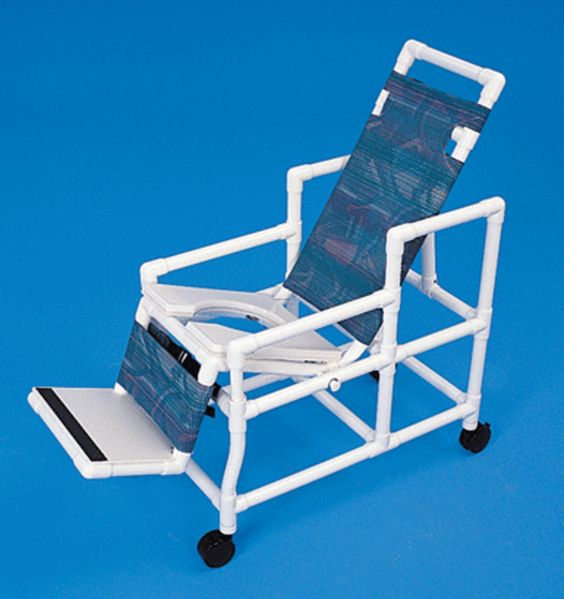 handicap shower chairs pvc reclining shower commode chairs