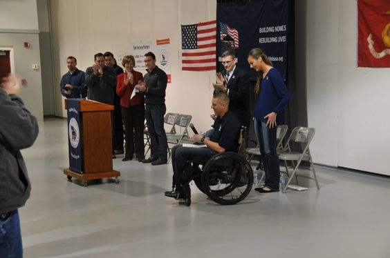 Cpl. Nelson was severely injured while serving in Afghanistan and thanks to Homes for Our Troops, will soon have a fully accessible house built for him in Noblesville.
