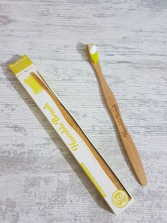 The Humble Natural Tootpaste Diş Macunu ve Bambu Brush Diş Fırçası