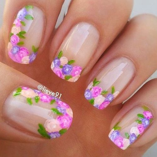 Spring Nails 46 Best Spring Nails For 2019 Floral Nail Art