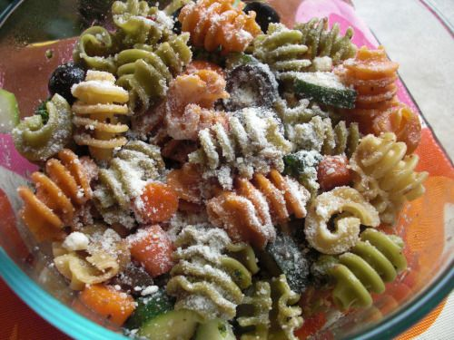Italian Pasta Salad. Will have to try sometime!