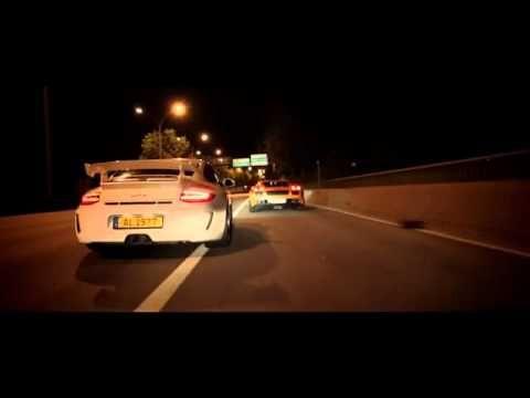 Muito bem produzido, este vídeo mostra um pega entre um Porsche 911 GT3 e um Lamborghini Gallardo Superleggera pelas ruas de Paris...vejam...