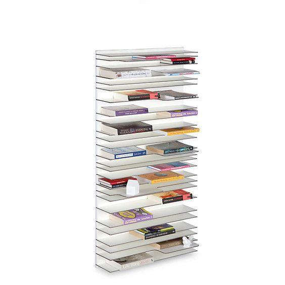 Die kleine Version des Regals PAPERBACK mit den Qualitäten der großen Variante. Besonders geeignet neben dem Bett, im... - Regal Paperback klein