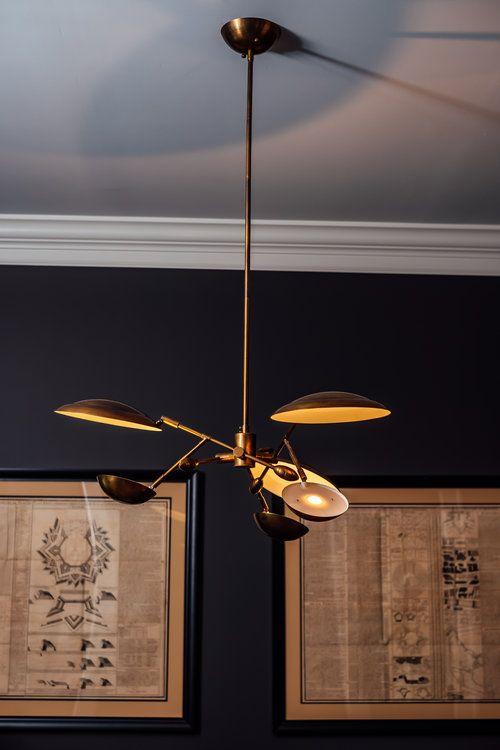 Modern Gold Light Fixture For Home Office Lightfixtures