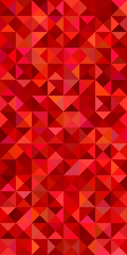 Red Geometric Abstract Triangle Mosaic Pattern Background Vector