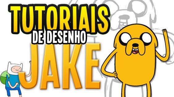 Tutorial de Desenho- JAKE - Adventure Time