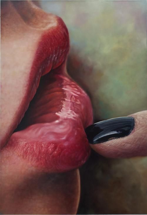 Lips by Kim Sung Jin Paintings
