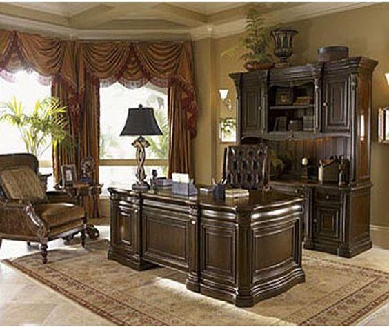 Executive Desk Office Lexington Dream Home Pinterest
